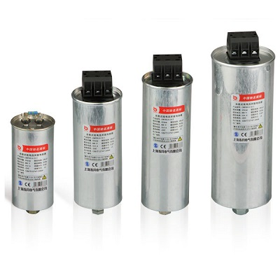 Cylinder type CMKP three phases shunt capacitor